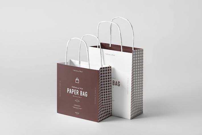 Thumbnail for Paper Bag Mock-up