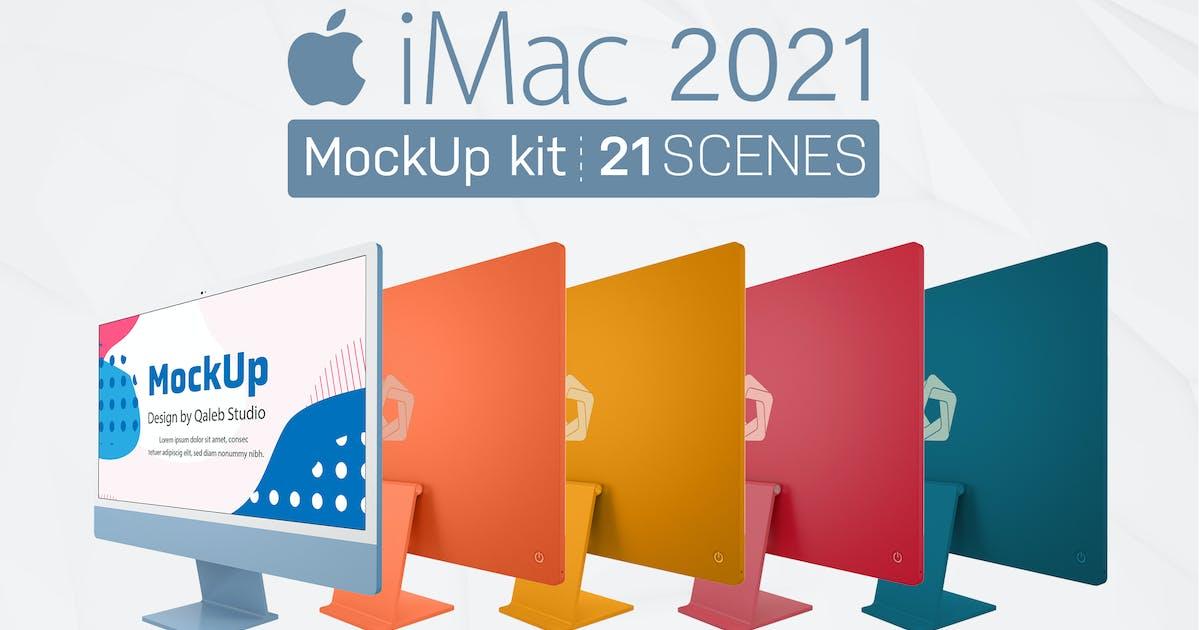 Download iMac 2021 by QalebStudio