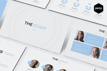 The Staff - Powerpoint Template