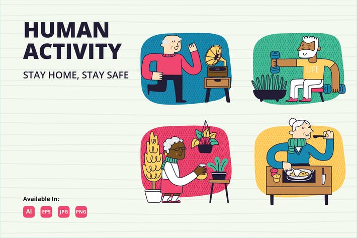 Thumbnail for Stay at Home campaign for Elderly