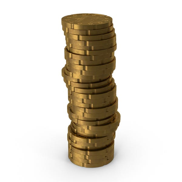 German 20 Cent Euro Coin Stack