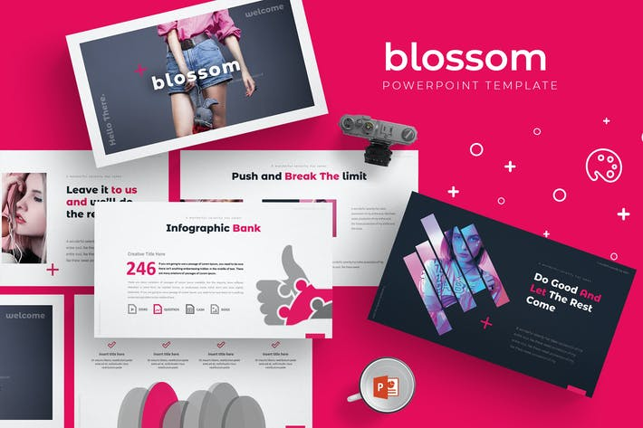 Cover Image For Blossom - Powerpoint Template