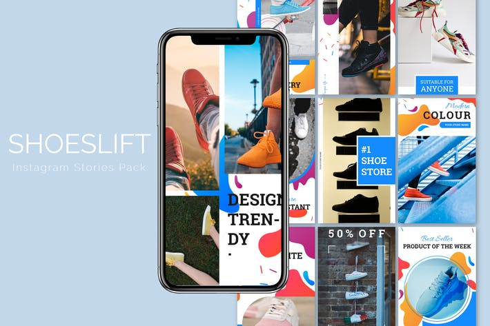 Thumbnail for Shoeslift - Instagram Story Pack