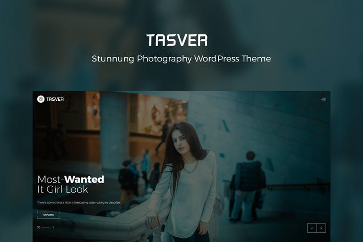 Thumbnail for Photography & Magazine Theme | Tasver Photography