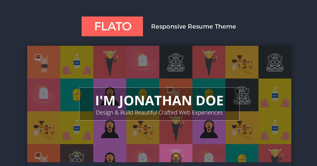 Download Flatoo - vCard, Resume, Personal WordPress Theme by Theme-Squared