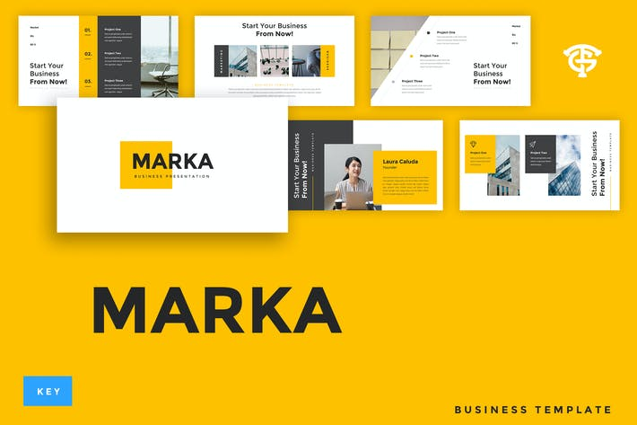 Thumbnail for Marka Business - Keynote
