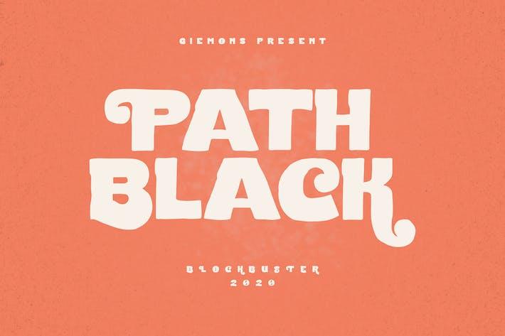 Thumbnail for Tipo de letra de Path Black