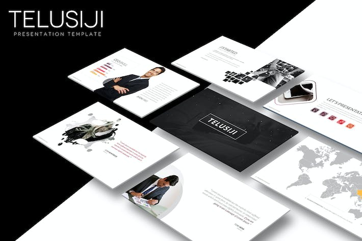 Thumbnail for TeluSiji - Keynote Template