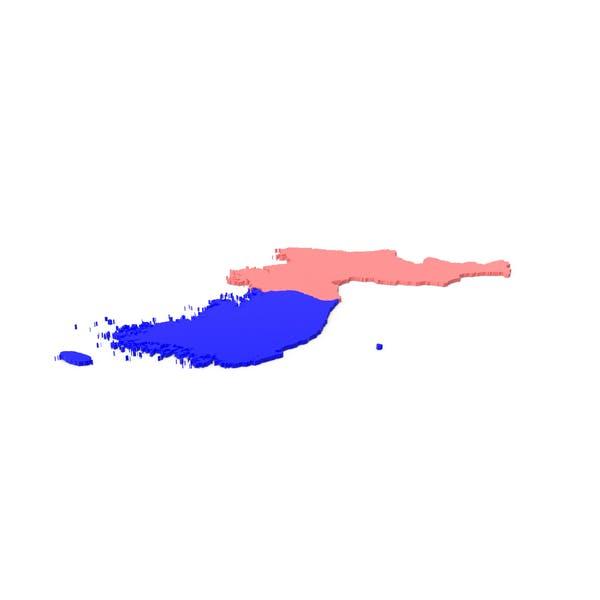 Thumbnail for Korea Regions Map
