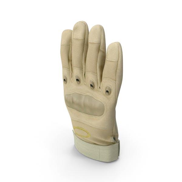 Перчатки бежевые