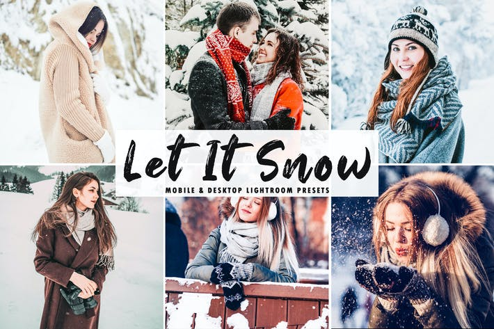 Thumbnail for Let It Snow Mobile & Desktop Lightroom Presets