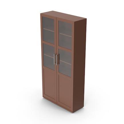Display Cabinet Brown