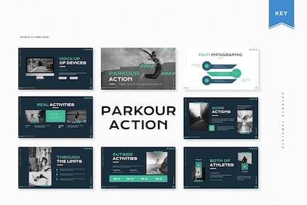 Parkour Action | Keynote Template