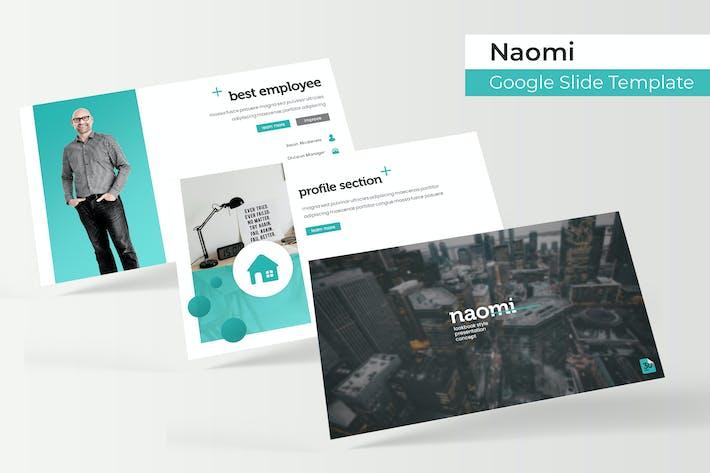 Thumbnail for Naomi - Plantilla de Presentación de Google