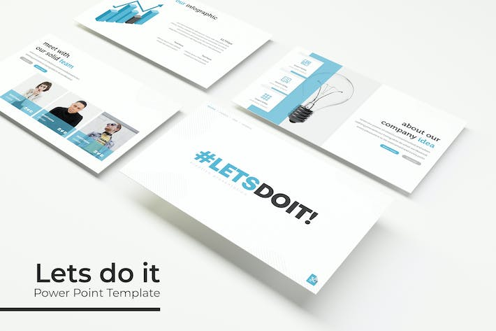 Thumbnail for Lets do it - Powerpoint Template