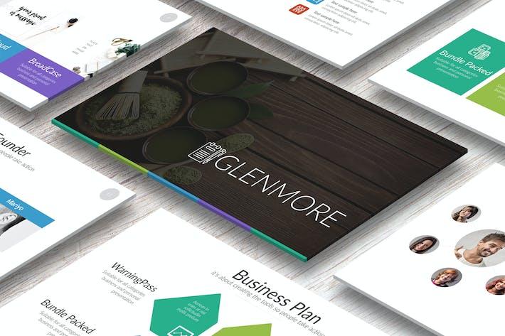 Thumbnail for GLENMORE Google Slides