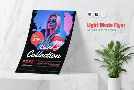 Light Mode Flyer