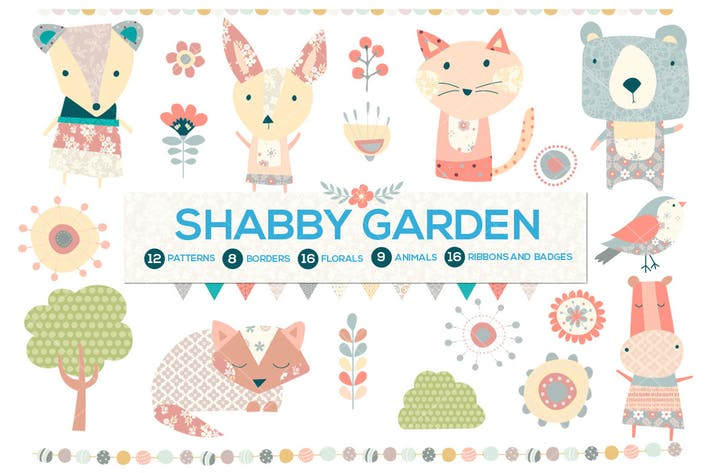 Cover Image For Shabby Chic Garden Bundle