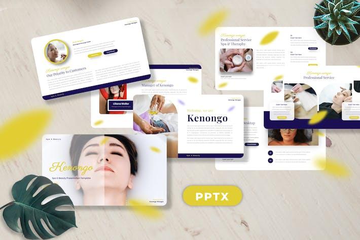 Thumbnail for Kenongo - Спа & Красота Googleslide Шаблоны