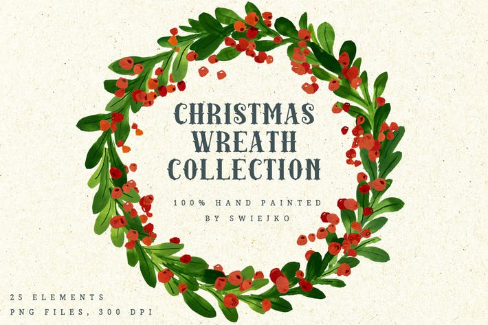 Thumbnail for Christmas Wreath Collection