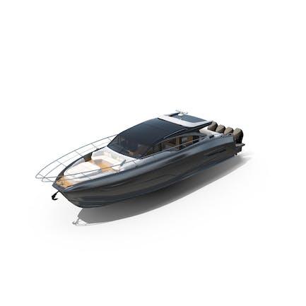 Black Spinner Sea Yacht