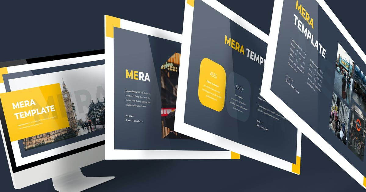 Mera - Powerpoint Template by aqrstudio