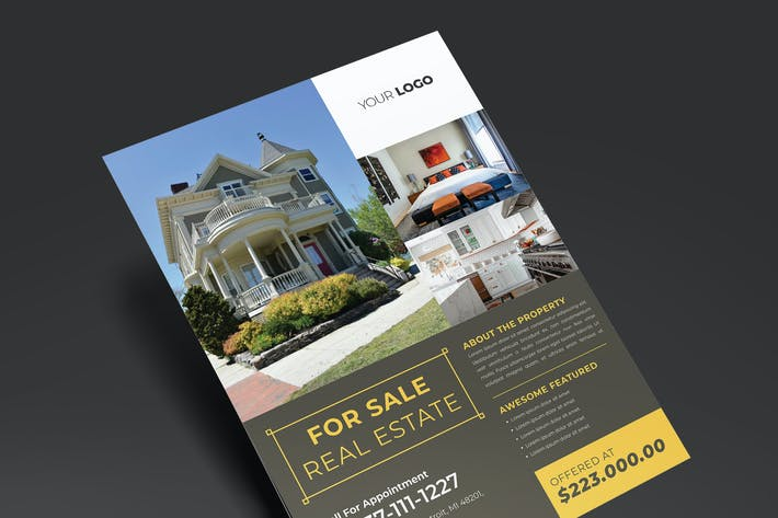 Thumbnail for Elegant Real Estate Flyer
