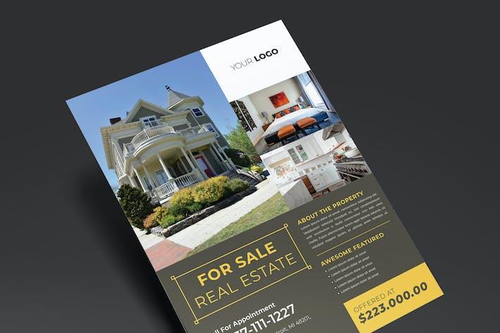 Elegant Real Estate Flyer