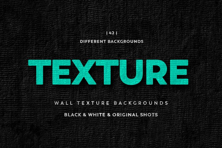 Thumbnail for Wall Texture Backgrounds Black & White