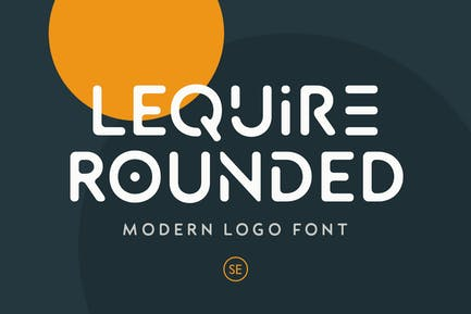 Lequire Rounded - Modern Logo Font