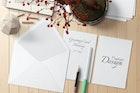 5x7 Postcard / Greeting Card Mockup Set 1