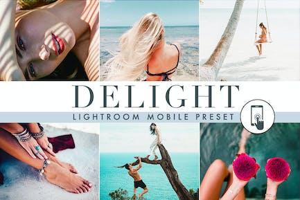 Delight - Лето - пресет для мобильных устройств Lightroom