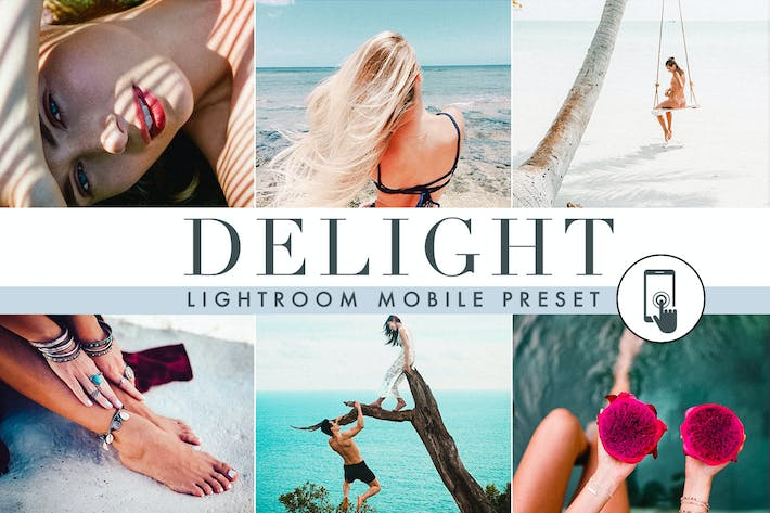 Thumbnail for Delight - Summer - Lightroom Mobile Preset