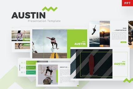 Austin - Skateboard Powerpoint Template