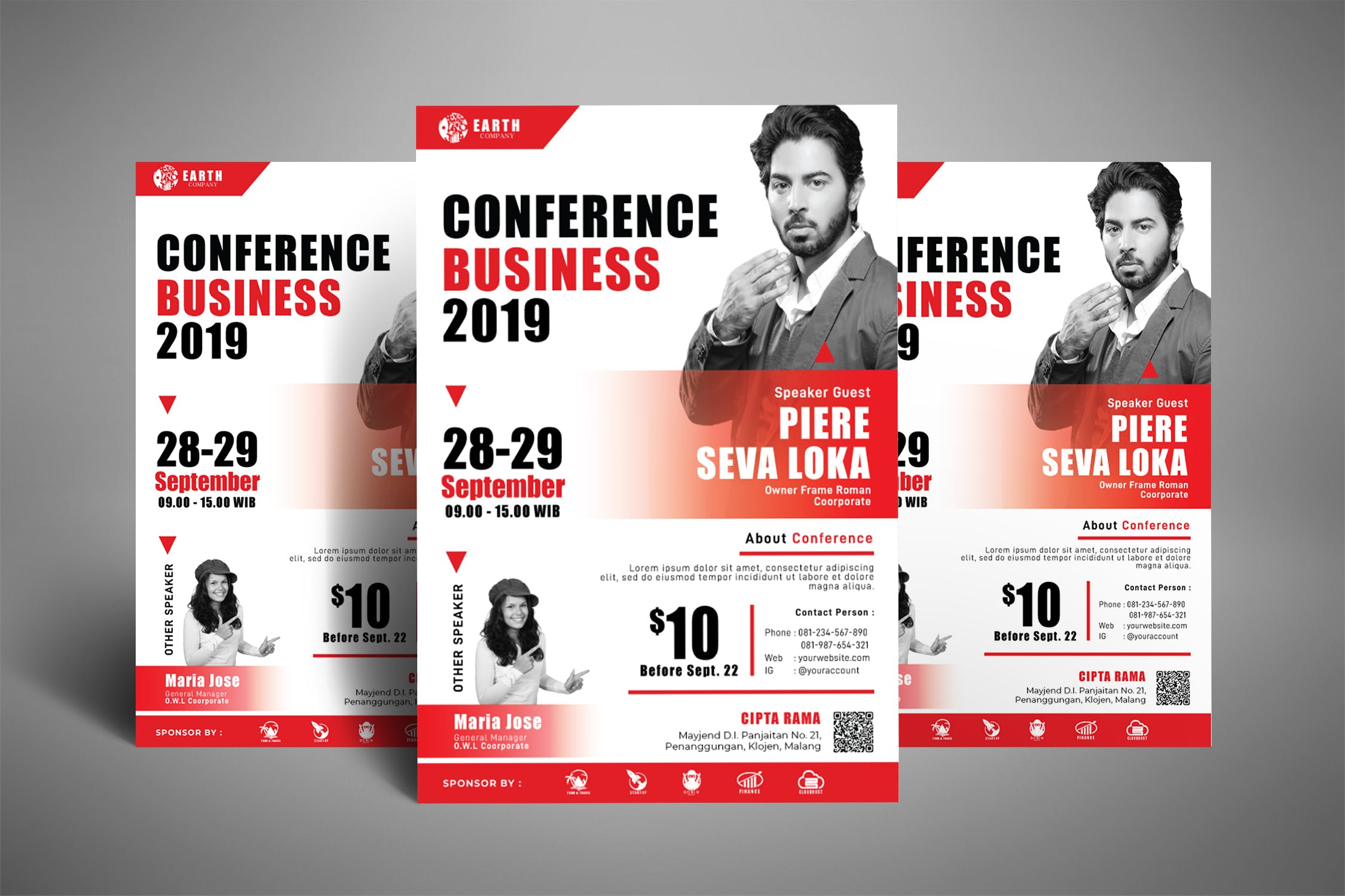 Business Conference Seminar Poster By Yip87 On Envato Elements