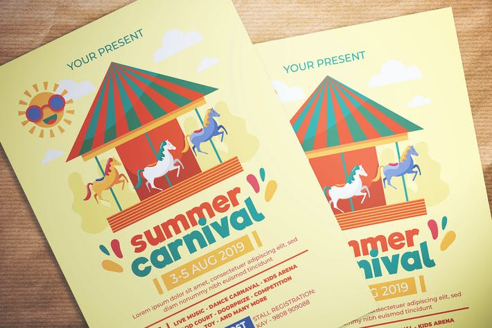 Thumbnail for Summer Carnival Flyer