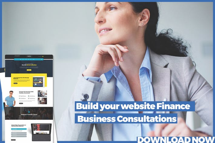 Thumbnail for Laptina Finance Business Consultations Template