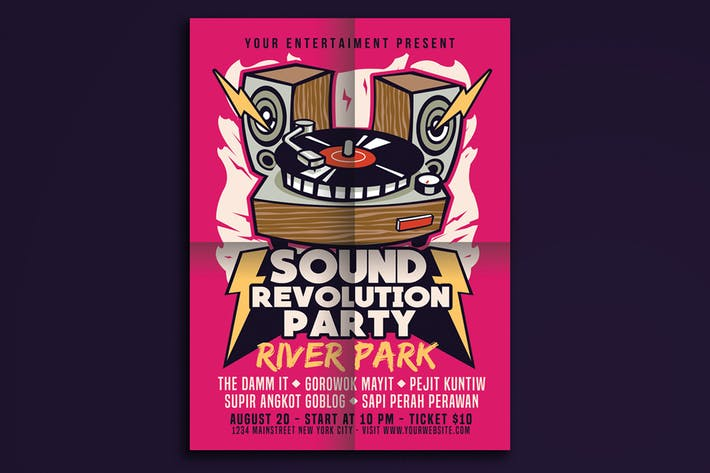 Thumbnail for Sound Revolution Party