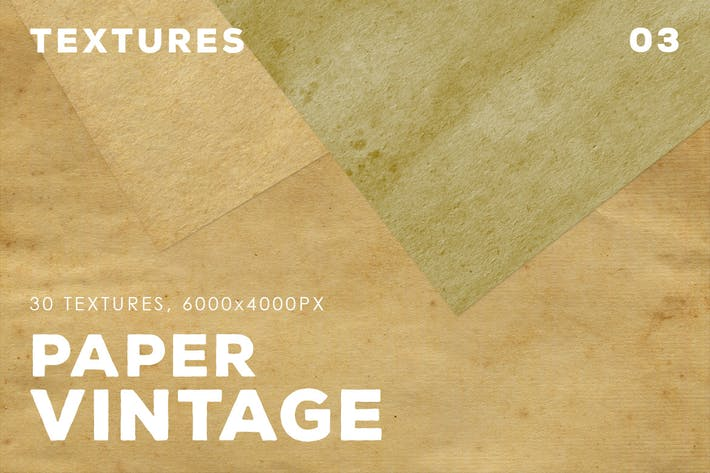 Thumbnail for 30 Vintage Paper Textures | 03