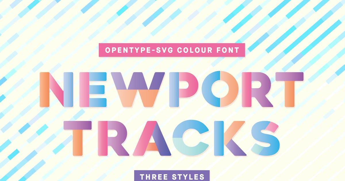 Download Newport Tracks - Colour Font by hughadams