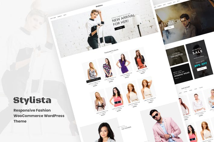 Cover Image For Stylista - WooCommerce WooCommerce WordPres