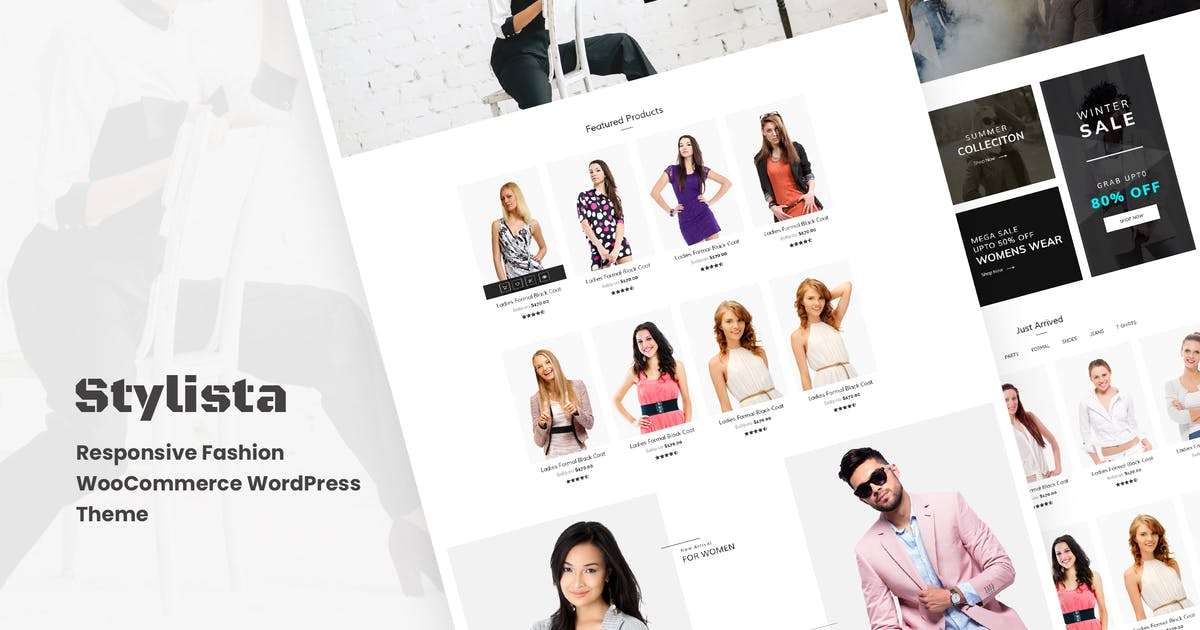 Download Stylista - Responsive Fashion WooCommerce WordPres by kaththeme