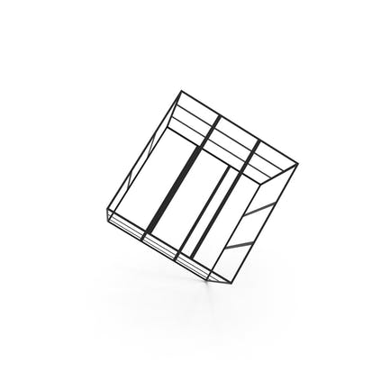 Geometric Abstract Cube