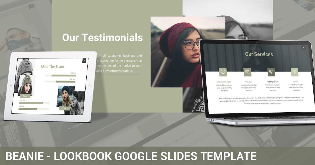 Download Beanie - Lookbook Google Slides Template by SlideFactory