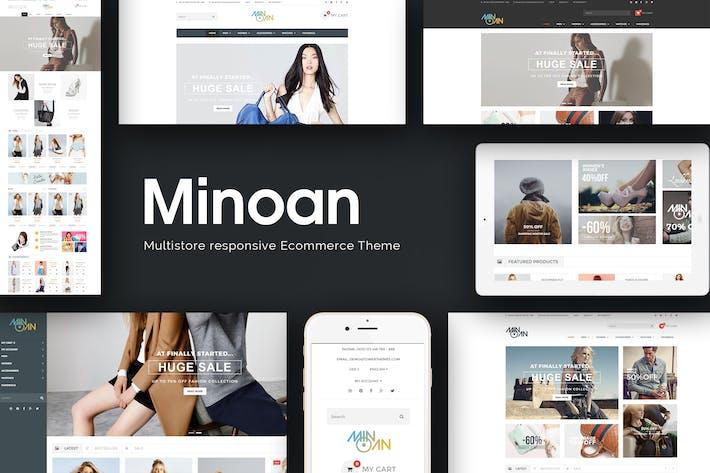 Minoan - Многоцелевой Отзывчивый Prestashop Тема