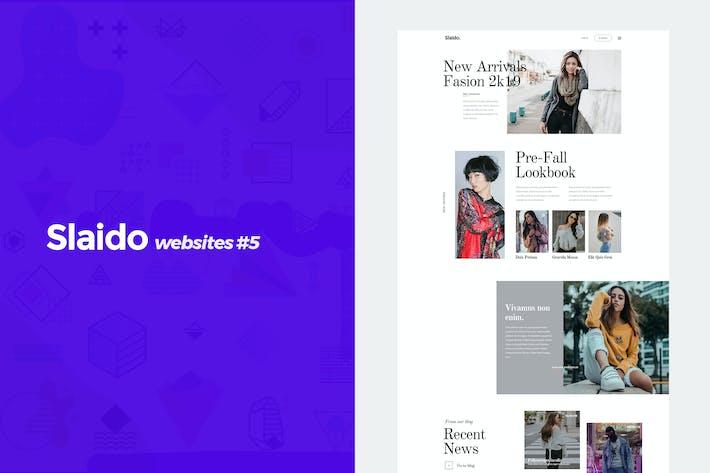 Thumbnail for Slaido Websites - #5