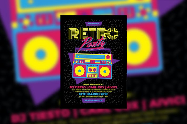 Thumbnail for Retro Party