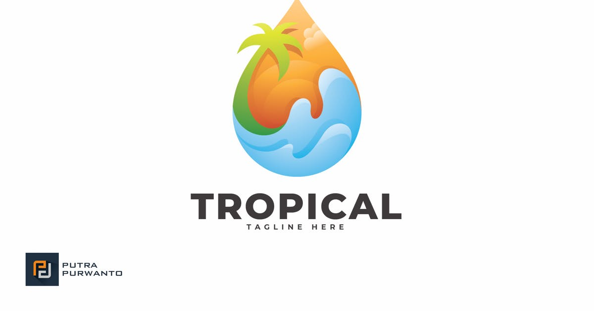 Download Tropical - Logo Template by putra_purwanto