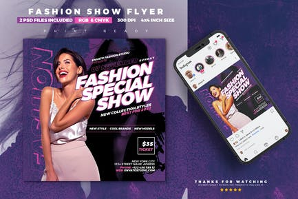Fashion Show Flyer | Special Event
