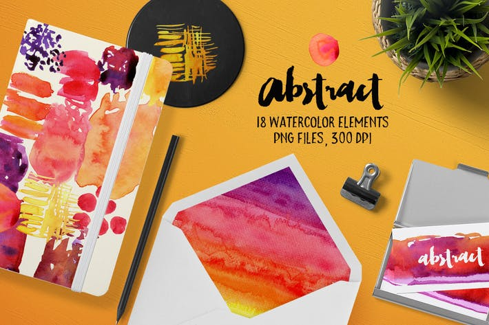 Thumbnail for Abstract Watercolour